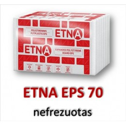 25 cm -ETNA EPS 70 nefrezuotas - 40,93 €/m³