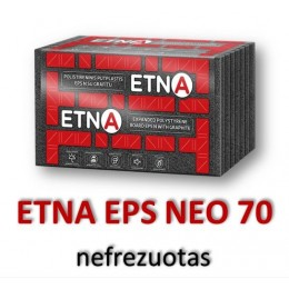 ETNA-N EPS 70 nefrezuotas-(su grafitu) - 44,16 €/m³