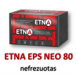 ETNA-N EPS 80 nefrezuotas-(su grafitu) - 50.55 €/m³