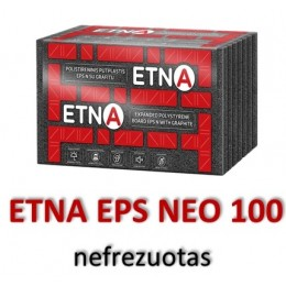 ETNA-N EPS 100 nefrezuotas-(su grafitu) - 60.35 €/m³